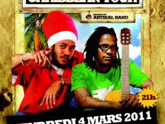 photo de YANISS ODUA + E.SY KENNENGA vendredi 04 mars 2011 au Bar'Ouf - Cholet (49)