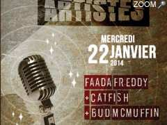 photo de Faada Freddy + Catfish + Bud McMuffin en concert à Nantes le 22/01/14